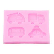 Silicone Cartoon Car Molds Bakeware Cake Fandant Mold Cake Decor LI