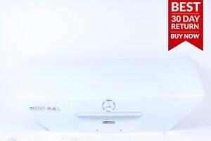 92-95 MERCEDES W140 500SEL S500 300SE 400SE REAR TRUNK LID SHELL SILVER OEM A93