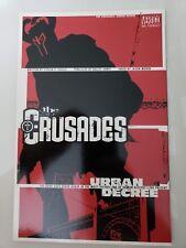 THE CRUSADES: URBAN DECAY Prestige Format Graphic Novel VERTIGO 2001 KELLY JONES