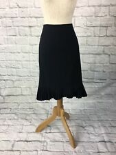 Portmans Size 6 Pencil Skirt With A Pleated Hemline