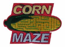 Corn Maze Embroidered Patch F2D17M