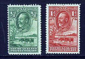 BECHUANALAND PROTECTORATE KG V 1932 ½d. & 1d. Baobob Tree SG 99 & SG 100 MINT