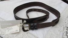 Diesel Leather Medium Width Belts for Women