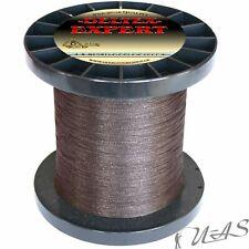 250m Dyneema Angelschnur 0,08-0,35 mm 4-fach rundgeflochten  0,044€//m SCHWARZ