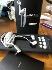 a-Jays four tangle free cables w/ Mic and remote White New Apple Sweden