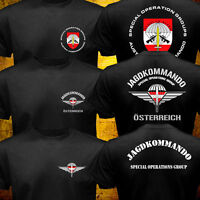 New Austrian Special Operations Group Force Army Military Jagdkommando T-shirt