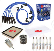 DENSO Filter Tune Up Kit w/ NGK Wires for Chevrolet Impala  Monte Carlo Regal