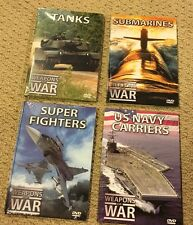 Weapons Of War DVD 4 Pack New And Sealed Free Shipping!!