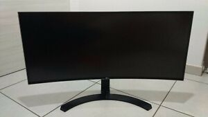 LG Monitor PC IPS 34'' 21:9 Quad HD Curvo