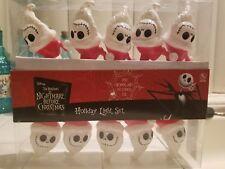 Nightmare before Christmas Light set Santa Jack string of lights