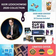 Igor Ledochowski Collection - 14 Courses, Hypnosis, Money, Mind, Trances, Power