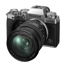 Fujifilm X-T4 26,1MP Fotocamera Mirrorless - Argenta (Kit con XF 16-80mm f/4 Obiettivo)