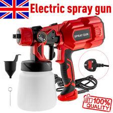 Electric 550W Paint Sprayer AIRLESS HVLP Handheld Spray Gun Fences Walls Decking