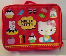 """Girls Hello Kitty Large Backpack 12""""  Lunch Bag Pink"""