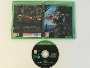 Monster Hunter World Microsoft Xbox One Boxed PAL Capcom - Great Condition