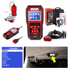 BD2 / EOBD / CAN Auto Car Diagnostic Scanner Reader High Resolution TFT Display