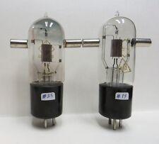 1 pair (2pcs) vintage DHT triode tube GU-4 ... ГУ-4 ... Rare NOS.