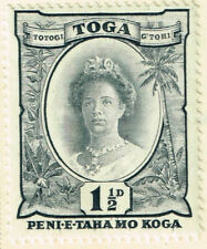 Toga Tonga Queen Salote stamp 1935 MLH