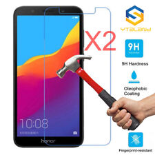 2Pcs 9H+ Premium Tempered Glass Film Cover Screen Protector For Huawei Honor 7S