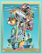 SUPER BOWL 54 OFFICIAL HOLOGRAPHIC STADIUM GAME PROGRAM LIV Miami NFL 2020 49ers