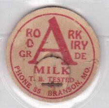 Roark Dairy milk cap-Branson. Missouri
