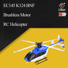 Wltoys XK EC145 K124 6CH 3D 6G Brushless Motor RC Helicopter BNF Aircraft Drone
