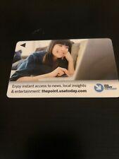 Hilton USA Today Hotel Room Key Card