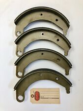 "1937 Plymouth Brake Shoes, Fresh Stock  10"" x 2"" Replacements!"