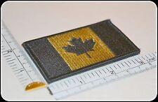 CANADA ARMY FLAG PATCH COMBAT MORALE MILITARY green  MULTICAM MILSPEC ACU