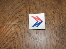 VINTAGE NATIONAL  BUS COACH BADGE DRIVER  BRASS  PLASTIC