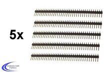 5 Stück Stiftleiste 40 polig Mehrpolige Pinleiste Pfostenstecker - Stiftsockel
