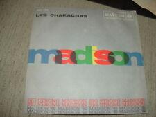 "LES CHAKACHAS "" MADISON'62 - BIG STRONG MADISON ""  ITALY'62"