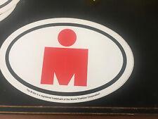 "Ironman Original Sticker "" M-Dot "" Triathlon New Sticker"