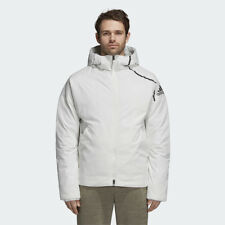 New Adidas Mens ZNE DUCK DOWN JACKET WHITE CY8617 PARKA PUFFER S - 2XL TAKSE