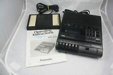 Panasonic RR-830 Standard Cassette Dictation Transcriber & Foot Pedal & Manual!