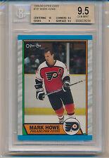 1989-90 O-Pee-Chee Mark Howe (HOF) (#191) (Population of 2) BGS9.5 BGS