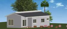 3 Bedroom DIY Granny Flat Kit - The Royal 76.2m2 on Gal Chassis- FC Weatherboard