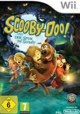 Nintendo Wii WII-U Scooby Doo e la spettro catturato nel pantano tedesco come nuovo
