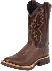 Justin Men's Antique Smooth Ostrich Tek Crepe Cowboy Men Boots NEW Size 10 M