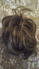 Ken Paves / Jessica simpson/ Hairdo clip in updo hair piece, brown/ blonde.R8/25