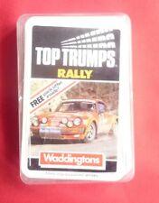 """TOP TRUMPS – """"RALLY"""" – Original (Waddingtons)"""