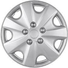 "1pc Hub Cap ABS Silver 15"" Inch Rim Wheel Skin Replica Cover"