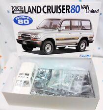 Fujimi 1/24 Toyota Land Cruiser 80Van VX Ltd.(HDJ81V) model kit
