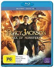 Percy Jackson - Sea Of Monsters (Blu-ray + Digital HD copy, 2014) - Free Postage
