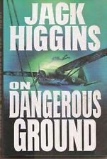 JACK HIGGINS - On Dangerous Ground - HARDCOVER ** Brand New **
