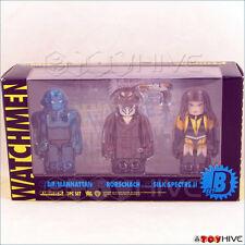 Watchmen Kubrick Medicom Set B 3 figures Dr. Manhattan Rorschach Silk Spectre II