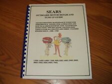 SEARS/ELGIN & McCULLOCH OUTBOARD REPAIR MANUAL ALL 3.5 to 7.5hp~1960-1968-154 pg