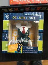 "Disney 3"" Vinylmation Occupations - Business Man with Mystery Jr. NIB"