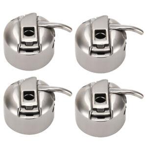 4pcs Nähmaschinen Spulenkapsel Edelstahl Spulenkapsel für Nähmaschinen
