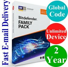 Bitdefender Family Pack Unlimited Device / 2 Year (Unique Global Key Code) 2019